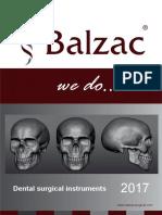 Balzac Surgical Instruments Catolog 2017 s