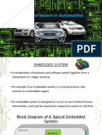 Embedded System in Vehicles.pptx