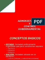 Administracion y Control Gubernamental