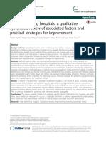 Hospitais de Alta Performance - Revisão