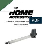 Home Access 150 Manual c