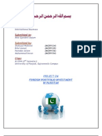 IB Project - FPI in Pakistan
