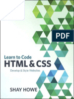 Learn to Code HTML and CSS Develop & Styl…Sites
