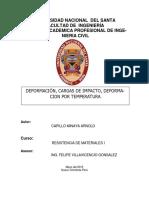 Informe de Resistencia de Materiales