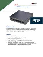 Switch DH Pfs3005 4p 58