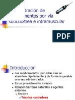 Adminitracion de Medicamentos via Subcutanea