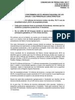 ACTUALIZACIÓN DEL MARCO CENSAL AGROPECUARIO (AMCA) 2016