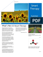 Smart Therapy Summer 2017 Newsletter
