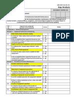 Form # 2 Gap Analysis