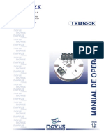 Txblock_transmisor Para Pt100,Novus2
