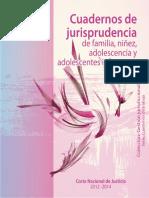 JURISPRUDENCIA DE FAMILIA, NIÑEZ, ADOLESCENCIA Y ADOLES. INFRACTORES.pdf