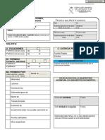 Formulario de Licencia