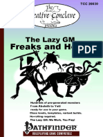 Lazy GM Horror Guide