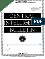 CIA Report - Commenting on Moniz