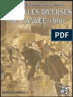 Faits Divers Figaro 1900 - JDR papier aide de jeu