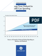 CBO Longterm Outlook on Health Spending