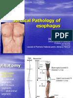Patologia Chir Esofagului Engl USMF
