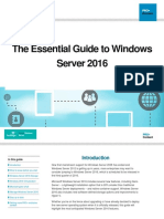 Microsoft Windows Server 2016 Essential Guide