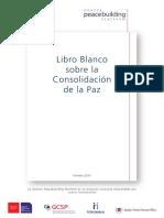 Libro Blanco Sobre La Consolidación de La Paz
