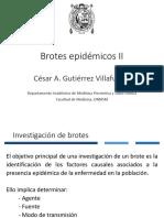 Clase 25 Investigación de Brotes II
