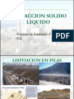 EXTRACCION SOLIDO LIQUIDO