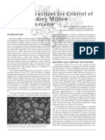 Compost Practices for Control of Grape Powdery Powdery Mildew