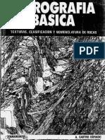 Castro Dorado 1989 Petrografia Basica Textura Clasificacion y Nomenclatura de Rocas (1)