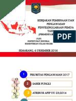 Slide Kebijakan Pengawasan 2017