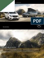 Mercedes-benz Reisemobile Broschuere Marco Polo 160923