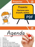 2.-Fijaciones Para Drywall y Techos