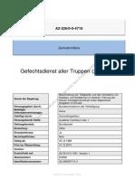 Zentralrichtlinie A2_226-0!0!4710 Gefechtsdienst Aller Truppen