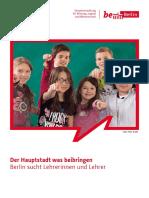 Lehrerin Oder Lehrer Werden in Berlin