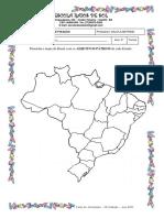 Mapa Dos Adjetivos Pátrios II Unidade