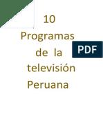 Programas de Tv Valentin