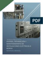 Averías, Reparación y Mantenimiento de Instalaciones Eléctricas a Bordo