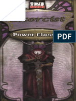 Power Classes. Exorcist