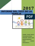 Informe Test de La Familia