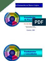 Formulacion de Proyectos con Marco Logico.pdf