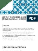 Beneficios Tributarios Del Seguro de Vida Internacionales