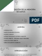 Organización de La Memoria de Datos