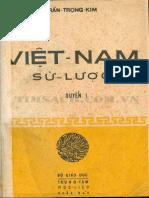 (1971) Việt Nam Sử Lược - Quyển 1 - Trần Trọng Kim