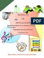 Proyecto de Articulacion de Areas Especiales 2015