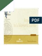 Archivo Histórico de La Grita. Yariesa Lugo Marmignon
