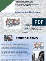 Br. Juan Castillo (Las Organizaciones Sindicales. Tarea Al 05-07-2017)