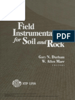 Field Instrumentation for Soil