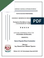 tesis de caracterizacion estatica de yacimientos petroquimicos