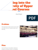 diving into the diversity of upper level courses  3
