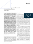 Mechanobiology and Diseases of Mechanotransduction by Ingber