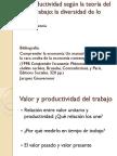 La Productividad Según La Teoría Del Valor-trabajo