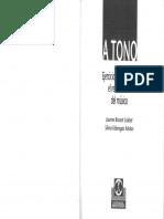 A tono, ejercicios para mejorar el rendimiento del músico - J.R.Llobet y S.F.Molas.pdf
